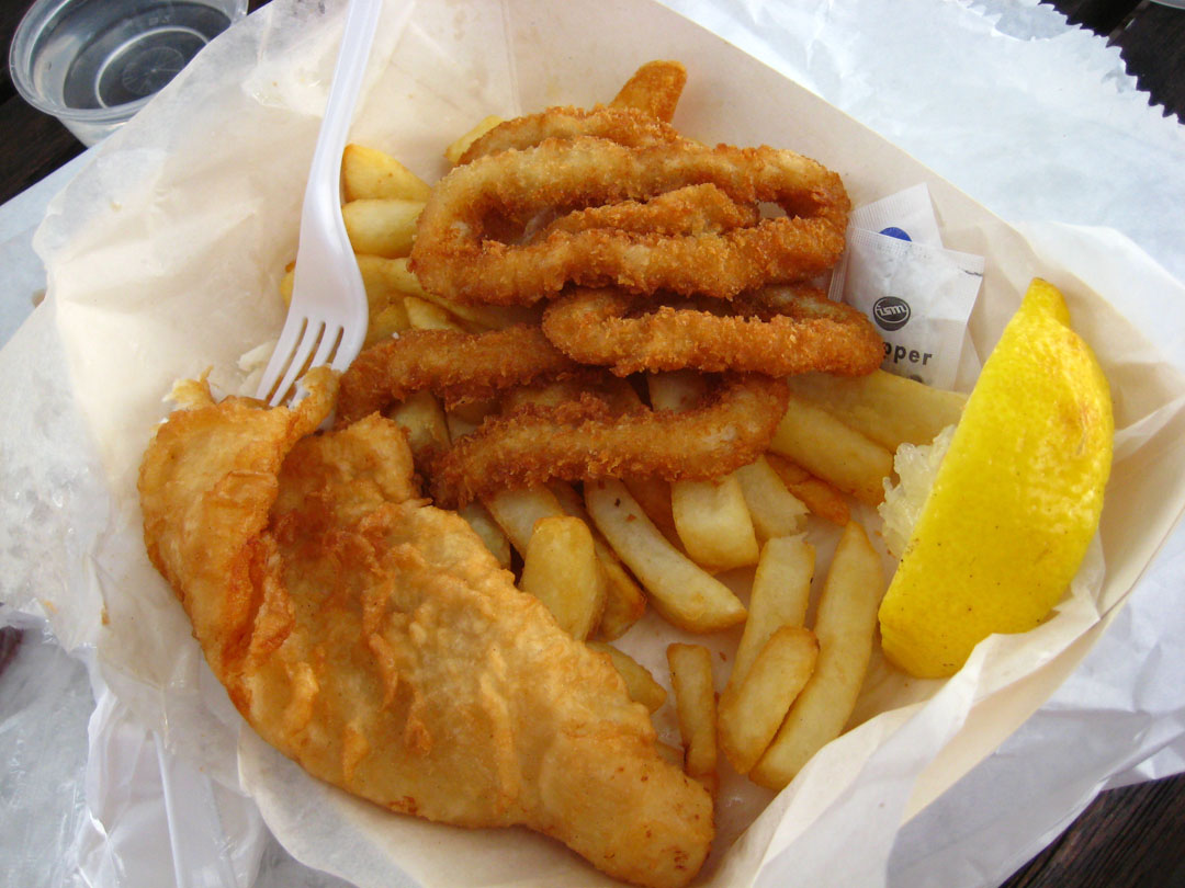 The cove fish chips 735 davis dr newmarket stonehaven for Best fish food