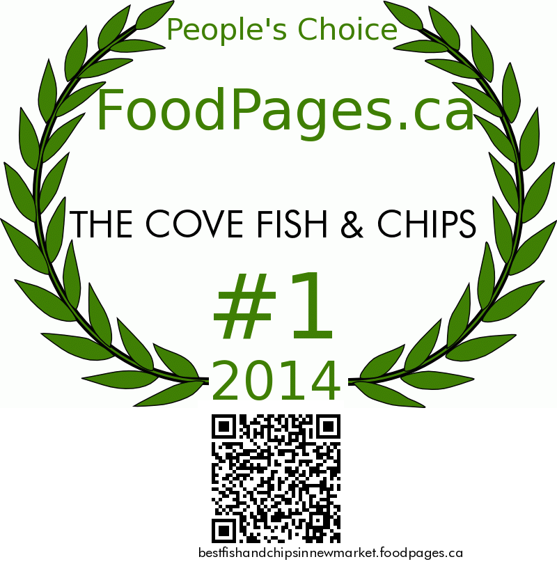THE COVE FISH & CHIPS FoodPages.ca 2014 Award Winner