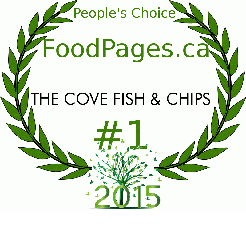 THE COVE FISH & CHIPS FoodPages.ca 2015 Award Winner
